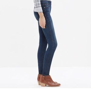 """Madewell Jeans - Madewell 9"""" High Rise Skinny Jeans - Atlantic Wash"""